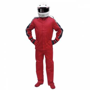 Pyrotect Eliminator Nomex Auto Racing Suit - Red