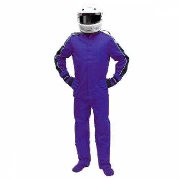 Pyrotect Eliminator Nomex Auto Racing Suit - Blue