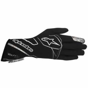 Alpinestars 2017 Tech 1-Z Auto Racing Glove - Black/White 3550217-12B