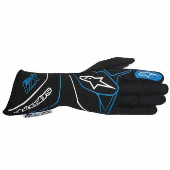 Alpinestars 2017 Tech 1-ZX Glove - Black/Blue - 3550317-171