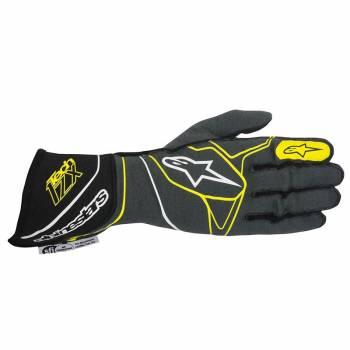 Alpinestars 2017 Tech 1-ZX Glove - Anthracite/Black/Yellow Fluo - 3550317-1045