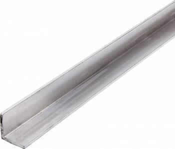 """Allstar Performance - Allstar Performance Aluminum Angled Stock - 1"""" x 1"""" x 1/8"""" Thick - 4 Ft."""