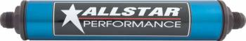 """Allstar Performance - Allstar Performance Inline Fuel Filter - 8"""" Length -08 AN - Paper Element"""