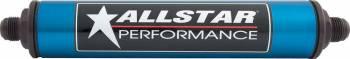 """Allstar Performance - Allstar Performance Inline Fuel Filter - 8"""" Length -10 AN - Stainless Element"""