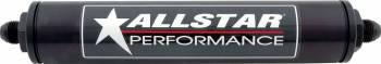 Allstar Performance - Allstar Performance Aluminum Inline Black Filter Housing (Only) -12 AN - No Element