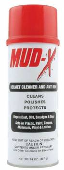 Mud-X - Mud-X Helmet Cleaner & Anti-Fog - 14 oz. Aerosol Can