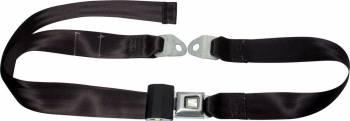 Allstar Performance - Allstar Performance Seatbelt 2-Point Black