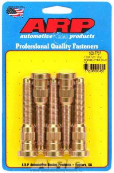 """ARP - ARP 1/2""""-20 Wheel Stud Kit - 3.050"""", .618"""" Knurl (5 Pieces) - Early Ford Front Disc"""