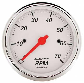 """Auto Meter - Auto Meter Arctic White Electric Tachometer - 3-1/8"""""""