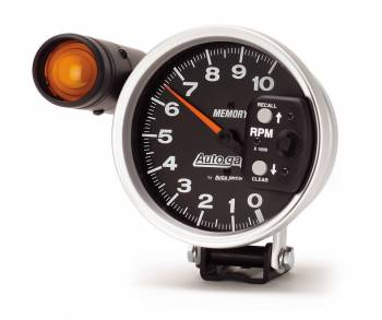 Auto Meter - Auto Gage Shift-Lite Tachometer - 5 in.