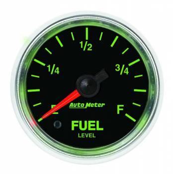 Auto Meter - Auto Meter GS Programmable Fuel Level Gauge - 2-1/16 in.
