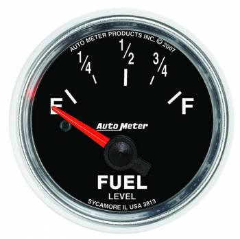 Auto Meter - Auto Meter GS Electric Fuel Level Gauge - 2-1/16 in.
