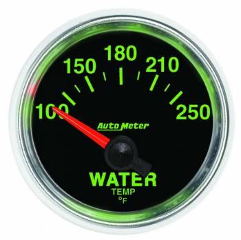 "Auto Meter - Auto Meter GS Electric Water Temperature Gauge - 2-1/16"""