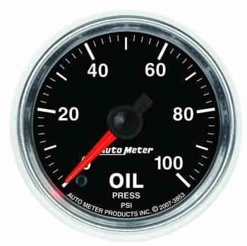 "Auto Meter - Auto Meter GS Electric Oil Pressure Gauge - 2-1/16"""