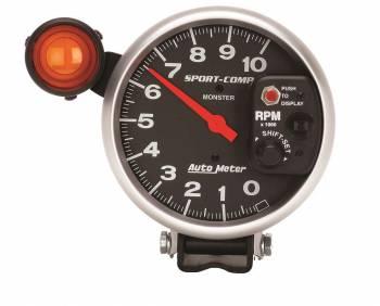 "Auto Meter - Auto Meter 10,000 RPM Sport-Comp Shift-Lite 5"" Monster Tachometer"