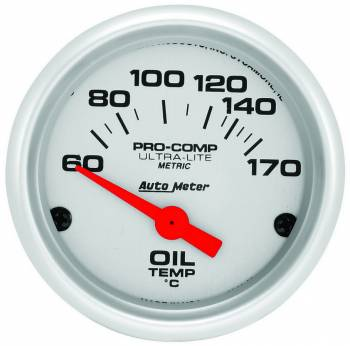 Auto Meter - Auto Meter Ultra-Lite Electric Oil Temperature Gauge - 2-1/16""