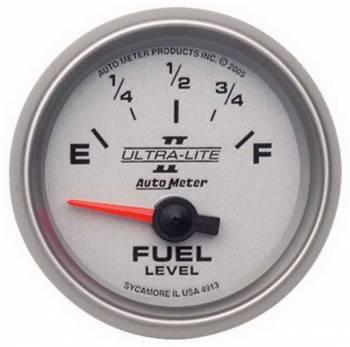 Auto Meter - Auto Meter Ultra-Lite II Electric Fuel Level Gauge - 2-1/16 in.