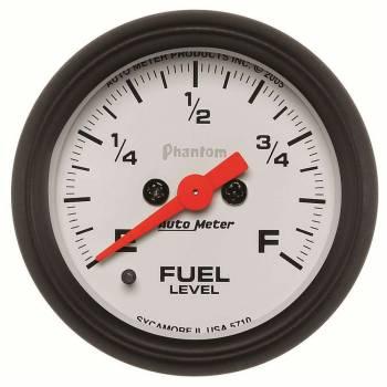 Auto Meter - Auto Meter Phantom Electric Programmable Fuel Level Gauge - 2-1/16 in.