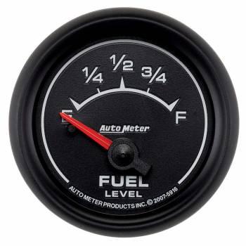 Auto Meter - Auto Meter ES Electric Fuel Level Gauge - 2-1/16 in.