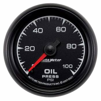 "Auto Meter - Auto Meter ES Mechanical Oil Pressure Gauge - 2-1/16"""
