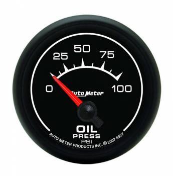 "Auto Meter - Auto Meter ES Electric Oil Pressure Gauge - 2-1/16"""