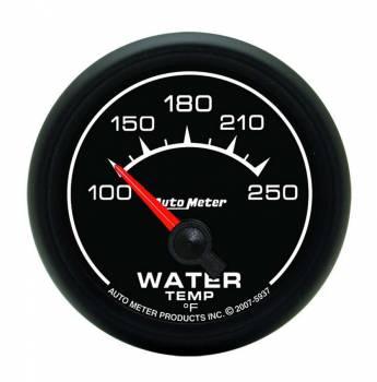 "Auto Meter - Auto Meter ES Electric Water Temperature Gauge - 2-1/16"""