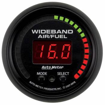 Auto Meter - Auto Meter ES Electric Air Fuel Ratio Gauge - 2-1/16 in.
