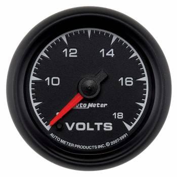"""Auto Meter - Auto Meter ES Electric Voltmeter Gauge - 2-1/16"""""""