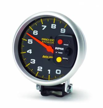 "Auto Meter - Auto Meter 9,000 RPM Pro-Comp 5"" Monster Memory Tachometer"