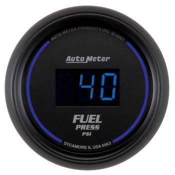 Auto Meter - Auto Meter Cobalt Digital Fuel Pressure Gauge - 2-1/16 in.