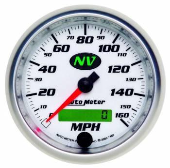 Auto Meter - Auto Meter NV In-Dash Programmable Speedometer - 3-3/8 in.