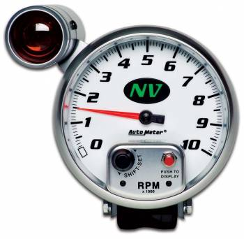 Auto Meter - Auto Meter NV Shift-Lite Tachometer - 5 in.