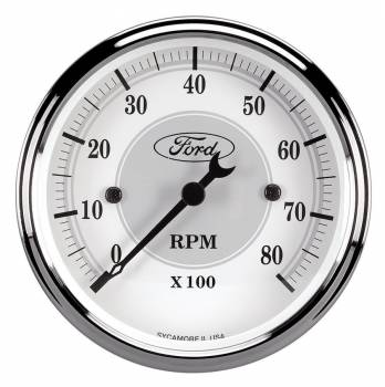 Auto Meter - Auto Meter Ford Racing Series In Dash Tachometer 3-1/8""