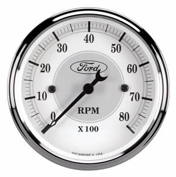 "Auto Meter - Auto Meter Ford Racing Series In Dash Tachometer 3-1/8"""