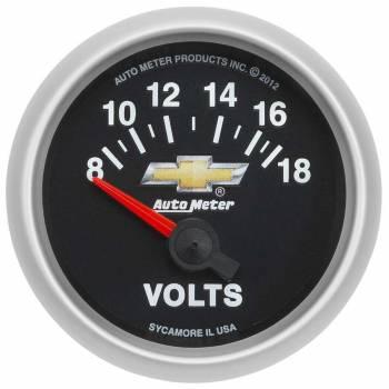 "Auto Meter - Auto Meter 2-1/16"" Voltmeter Gauge - GM COPO Camaro"