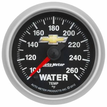 "Auto Meter - Auto Meter 2-1/16"" Water Temp Gauge - GM COPO Camaro"
