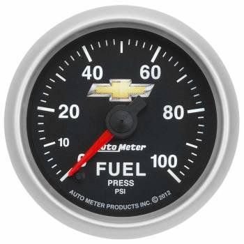 """Auto Meter - Auto Meter 2-1/16"""" Fuel Pressure Gauge - GM COPO Camaro"""