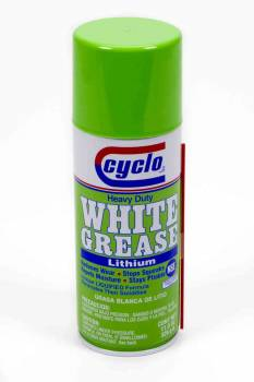 Cyclo Industries - Cyclo Heavy Duty White Grease® w/ Lithium - 11 oz.Net Wt.