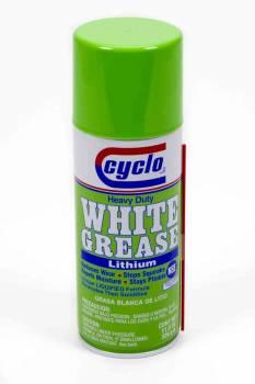 Cyclo Industries - Cyclo Heavy Duty White Grease® w/ Lithium - 11 oz.Net Wt.