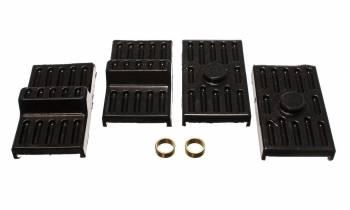 Energy Suspension - Energy Suspension Leaf Spring Pad Set - Multi-Leaf - Black - Chevy, Pontiac, Camaro, Firebird (Pair)
