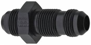 Fragola Performance Systems - Fragola Aluminum AN Straight Bulkhead Adapter - Black -12 AN