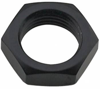 Fragola Performance Systems - Fragola Aluminum Bulkhead Nut - Black -08 AN