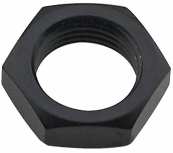 Fragola Performance Systems - Fragola Aluminum Bulkhead Nut - Black -10 AN