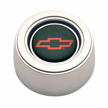 GT Performance - GT Performance GT3 Hi-Rise Chevy Bowtie Color Horn Button Polished