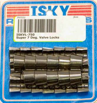 "Isky Cams - Isky Cams Super 7° Valve Locks - For 11/32"" Diameter Valve Stems"