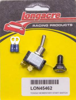 Longacre Racing Products - Longacre Toggle Momentary Start Switch w/ 2 Terminals
