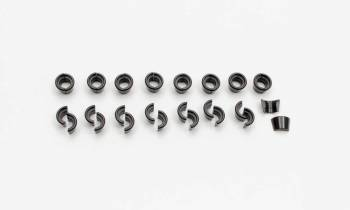 "Manley Performance - Manley 10° Steel Valve Locks - Fits .3415"" Diameter Valve Stems, Conventional Groove, Standard Height - (Set of 16)"