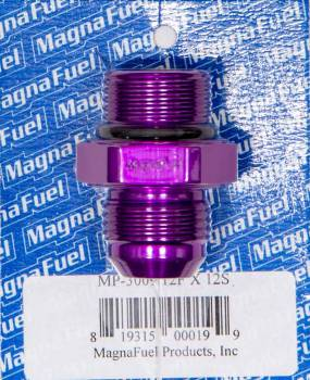 MagnaFuel - MagnaFuel AN Flare-To -Straight Port Adapter -12