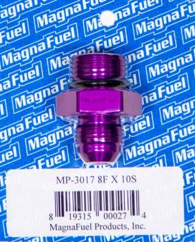 MagnaFuel - MagnaFuel AN Flare-To -Straight Port Adapter -6 to -10