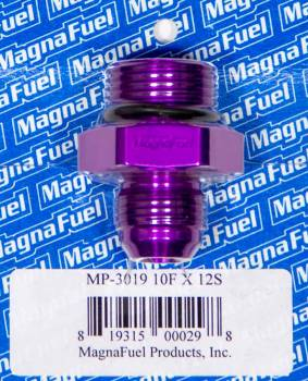 MagnaFuel - MagnaFuel AN Flare-To -Straight Port Adapter -10 to -12